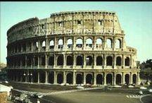 Ocio en Roma Clásica / Os elementos urbanísticos onde os romanos pasaban o tempo de lecer