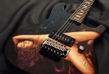 Rupeey Guitar | Yogyakarta, INDONESIA / Rupeey Guitar | Yogyakarta-Indonesia.   #guitarcarving #rareguitar #carving #bareknuckle #rupeeyguitar #guitararts #luthier #guitarcustom #rupeeyguitar #guitarporn #boutiqueguitar #handmadeguitar #customguitar #pornguitar #seymourduncan #floydrosetremolo #airbrushed #airbrushedguitar #pornocaster