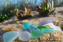 Our sea glass from local shores / Celebrating sea glass in our collection that we found locally on the Mornington Peninsula and from shores around Australia...