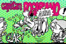 """CAPITAN POSAPIANO / UN SIMPATICO E DIVERTENTE TRIO DI PIRATI: Posapiano, Dolcefetta e Verdemare, pronti a solcare i mari con divertenti avventure piratesche. Pubblicate dal 1969 sul periodico """"Cucciolo"""" delle Edizioni Alpe."""