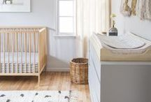 Decor - Nursery / Simple, soft, mostly gender-neutral nursery ideas, with a touch of playful.