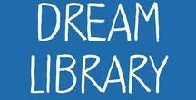 Dream Library / Dreamy libraries, bookselves, and cozy nooks