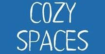 Cozy Spaces / Cozy reading places imagined or DIY