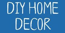 DIY Home Decor / DIY creations for homes with readers!