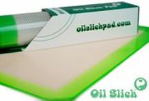 Oil Slick Pads / Recover 100% every time. Engineered specifically for concentrates, the Slick Pad allows you to handle the stickiest resin with ZERO waste or mess. Production and collection are a breeze with the Slick Pad. Never scrape again, nothing sticks to the Oil Slick! It's the perfect surface for drying water extracts. Sticky tools stay clean of debris, while slippery glass stays put. When used during personal consumption, Oil Slick protects your glass tools, and lets you reclaim oil lost during use.