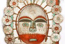 Yup'ik and Inuit masks / Ceremonial carved masks