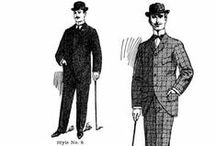 """Middle Class Men / """"I hold that gentleman to be the best-dressed whose dress no one observes."""" -Anthony Trollope"""