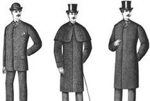 """Upper Class Men / """"Clothes make the man. Naked people have little or no influence on society.""""  -Mark Twain"""