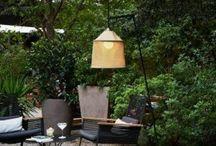 Luminaire d'exterieur / Outdoor light - Lampe de jardin - applique de jardin / / Luminaire de jardin, terrasse, extérieur, lampadaire, borne, applique, lampe à poser, tout pour décorer votre jardin.
