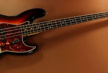 Jazz Bass / The Jazz Bass is the most famous bass guitar