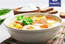 Soups / Bo zupa rybna, a szczególnie ta z łososiem to największy rozkosz zmysłów! Kto nie próbował, niech nadrabia! Zobaczcie nasze przepisy. :) #suempol #przepisy #recipe #soup #soups #zupy #zupyrybne #ryba #fish #losos #salmon