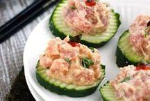 Salmon snacks / Przekąski z łososiem! #salmon #suempol #łosoś #panłosoś #ryba #przepis #pomysł