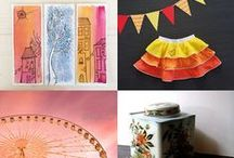 Handmade ideas from Etsy / A great source for gift ideas, treats for yourself, inspirations.  If you'd like to pin to this board, send me a message and I'll add you.