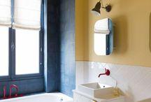 Salle de bain - Bathroom / Salle de bain, bathroom, inspiration, lighting, luminaire