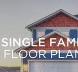 Single Family Home Floor Plans / Ranging from 1475 to over 3000 sq. ft these traditional family homes come complete with an attached 2 to 4 car garage and a suite ready basement for a clever mortgage helper or hobby space.