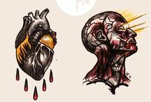 Sketches - Mickey Frost / Tattoo designs by Mickey Frost - tattoo artist from Poznan Poland