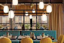 Restaurant, idées deco, inspirations