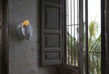 Les lampes animales, originales et décalées- animal's lights / atypiques, les lampes animales apportent une originalité tendance à tous les intérieurs
