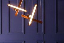 Luminaire en bois, wood lighting, cozy interior