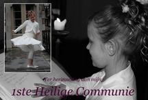Communie / Ik maak bedankjes en uitnodigingen voor communicanties.