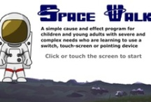 Space Resources for pupils with SEN / A selection of ideas and activities with a space theme. Includes a range of printable and interactive activities covering a number of curriculum areas  / by TES Special Ed