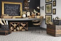 Carpet / CarpetsPlus carries a wide assortment of carpet styles and colors and can help you match any interior room decor.