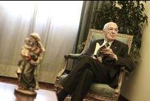 Visita del Presidente della Repubblica Giorgio Napolitano / Il presidente della Repubblica, Giorgio Napolitano, in visita ufficiale presso la Pontificia Università Lateranense giovedì 21 novembre 2013.