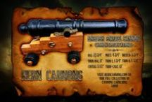 Hern Iron Works - Cannon's / Vintage cannon's made by Hern Iron Works in Coeur D Alene, Idaho