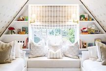 Little People Big Spaces / chic room decor for children.