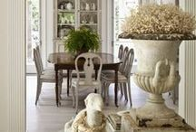 Dining Spaces / Ideas for making inspired and welcoming dining areas