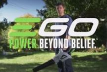 EGO Power Plus / Ego Power Plus shows us their great lawn equipment.  Electric and cordless lawn mowers, string trimmers and hedge trimmers. Rechargeable Ego Power garden tools. Using the 56 volt lithium-ion battery. As powerful as petrol, but without the noise!