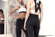 Activewear meets Fashion / gym wear / active wear / sportswear / sport couture outfits