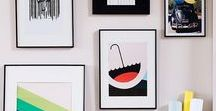 Wonderful Wall Art / Wall art inspiration, framed prints, beautiful canvases, gorgeous artwork, lithographs, words, paintings, drawings...Anything beautiful you can hang on a wall basically!