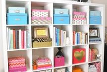 Storage solutions / All about storage, from boxes and chests to wardrobes and cupboards. There are inspirational ideas on how to make the best of small spaces with better storage. All kinds of storage solutions for every situation to keep things neat and tidy and organised.