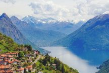 Mountain view / Mountains and lakes