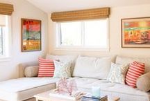 Guest Bedroom Makeover / Guest bedroom ideas. Day bed, hideaway bed, guest bed, sofa bed, soft furnishings, accessories.