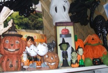 All Hallow's Eve....Boo! /  Everything on this board is for sale at The Antique Station. / by The Antique Station