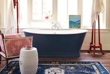 { bathrooms } / Beautiful bathrooms to inspire you to make your bathroom or powder room a bit lovelier.