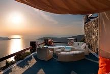 The Hotel / The Santorini hotel of your choice in Imerovigli, on the island of Santorini.