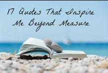 Be Inspired / No matter who we are, a bit on inspiration always serves as food for the soul. Read on and be inspired.
