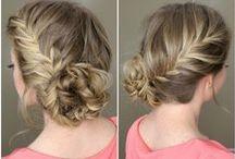 Haartrends / Vlechten & haarkleuren