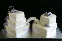 MyCake`s weddingcakes / Weddingcakes  Bryllupskaker