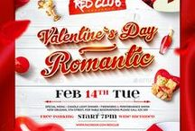 Valentine`s Day Flyers & Posters