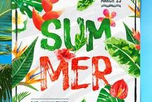 Summer Vacation Posters & Flyers