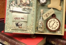 Alice in Wonderland / alice in wonderland inspired crafts for a shadow box project / by Organizing my O.C.D.