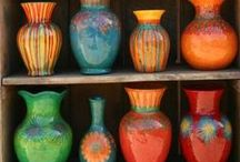 Pottery, Ceramics and Glass / Pottery of all kinds - from Vintage, Antique, Innovative, Utilitarian, and Everyday / by Cathie Shelton - Hull