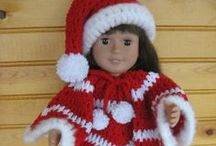 American Girl Dolls 18'' - Crochet