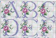 Cross Stitch - Alphabet