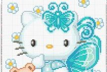 Cross Stitch - Hello Kitty