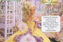 Barbie Crochet Ladies of Fashion
